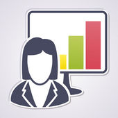 Presentation — Stock Vector