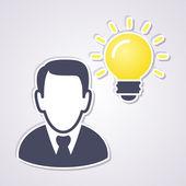 Idea concept — Stock Vector