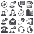 Support icons — Stock Vector #24967593