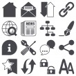 Royalty-Free Stock Obraz wektorowy: Web icons