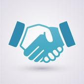 Handslag — Stockvektor