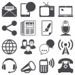 Stockvector : Communication icons