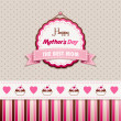 Happy Mothers Day — Stock Vector #27673227