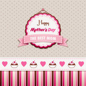Happy Mothers Day — Stockvector