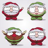 Christmas cartoon — Stock Vector