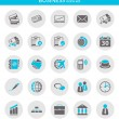 Stock Vector: Icons about business