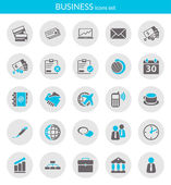 Icons about business — Stock Vector