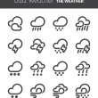 Stock Vector: Bad weather
