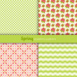 Spring patterns — Stock Vector #35252489