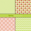 Stock Vector: Spring patterns