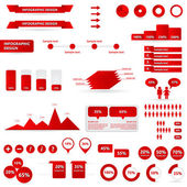 Infographic design — Vector de stock
