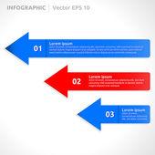 Infographic sjabloon — Stockvector