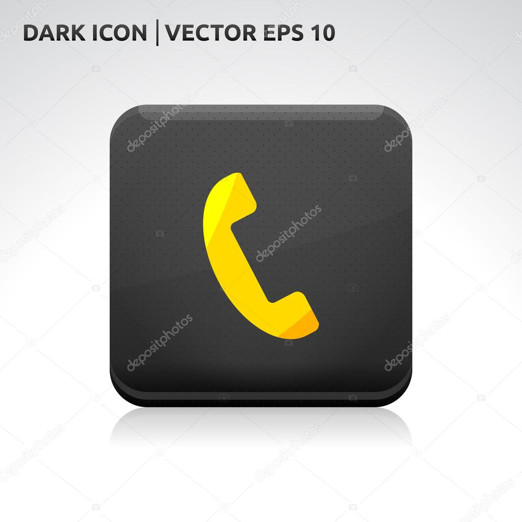 Phone vector icon free download