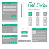 Flat design — Stock Vector