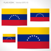 Venezuela flag template — Stock Vector