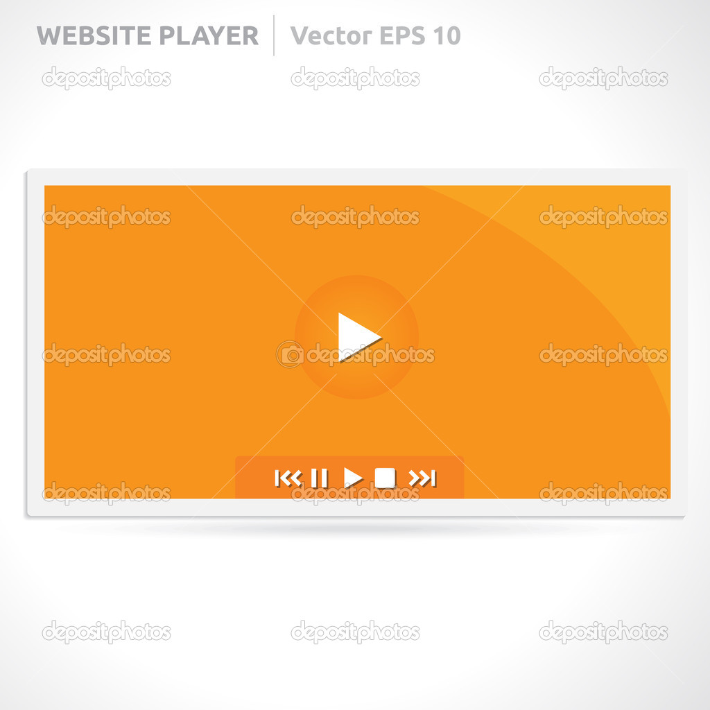 Website Slideshow template — Stock Vector © Betavid #49772235