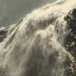 Waterfall in Patagonia — Stock Video #25962143