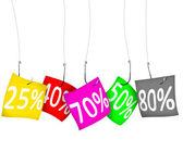 販売および割引 — ストック写真