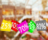 Sale and discount — Stock Photo