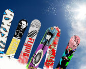Snowboard — Stockfoto