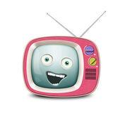 Retro tv — Stockfoto
