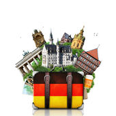 Germany, German landmarks, travel — Stock Photo