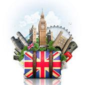 England, British landmarks, travel — Stock Photo
