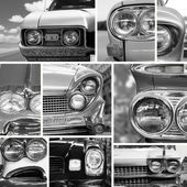 Retro cars — Stock Photo