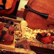 Workshop for the manufacture of violin — Stock Photo #47115285