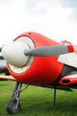 Retro airplane — Stock Photo