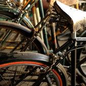 Urban retro bicycle — Stock Photo