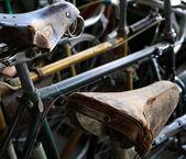 Urban retro bicycle — Stok fotoğraf