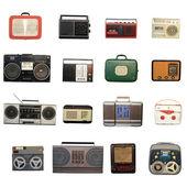 Retro recorder — Stock Photo