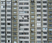 Big house, city — Stock Photo
