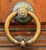 Door handle, vintage — Stock Photo