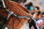 Bicicleta retrô urbana — Foto Stock
