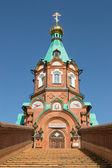 Русская Христианская церковь — Стоковое фото