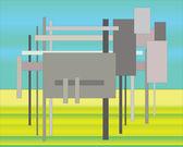 Koyun, dolly, sanal, — Stok fotoğraf