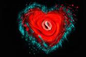 Abstract heart — Stok fotoğraf