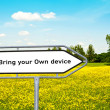 Stock Photo: Bring your own device