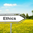 Royalty-Free Stock Photo: Ethics