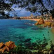 Beach of Lloret de Mar — Stock Photo