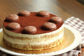 Cream Cake Tiramisu — Stock Photo