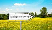 Intelligent energy — Stock Photo