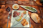 Prato - bife — Fotografia Stock