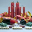 New year's stunner, firecrackers and bangers - Stock Photo