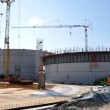 Construction of a biogas plant — Stock Photo #24811619