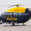 Police helicopter — Stock Photo