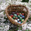 Easter and Easter eggs — Stock Photo