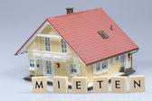 Rent - model house — Stock Photo